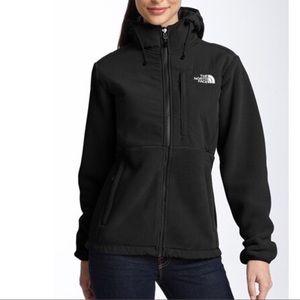 The North Face Women's Denali Hoodie In Black Sz S
